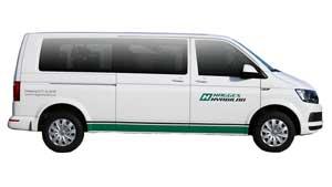 Grupp F1 - Minibuss 9 pers.