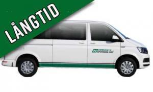 Långtid: Grupp F1 / Minibuss 9 pers. 4WD